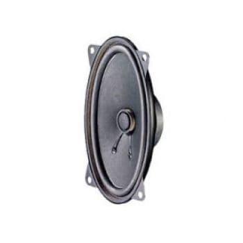"""2x OVAL LOUDSPEAKERS 6"""" X 4"""" ULTRA SLIM 150MM X 100MM  - DOOR, SHELF & UNIVERSAL"""