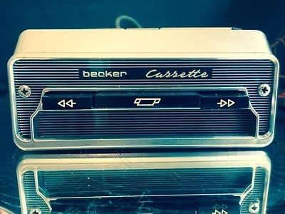 BECKER 208/209 Vintage Classic Car Radio CASSETTE PLAYER ADAPTER  WARRANTY MERCEDES  PORSCHE FERRARI