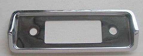 BECKER CHROME FACEPLATE NOS - CITROEN DS ID EARLY MODELS (1)