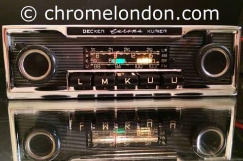BECKER EUROPA Kurier Vintage Classic Car FM Radio MP3  MERCEDES SL