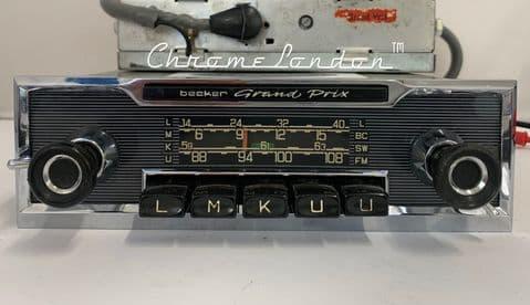 BECKER GRAND PRIX TR Wonderbar Vintage  Classic Car FM Radio MERCEDES W100  W113 FERRARI 275 JAGUAR