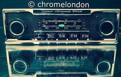 BECKER GRAND PRIX US Wonderbar Vintage Classic Car FM Radio MP3seevideo MERCEDES SL 113 PAGODA