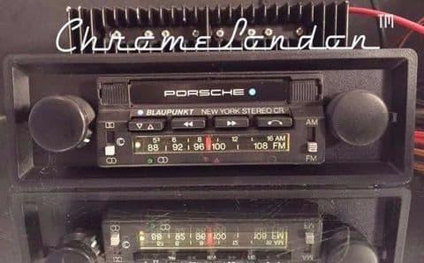 BLAUPUNKT AG NEW YORK STEREO CR USA PORSCHE OEM Vintage Radio Cassette MP3 4ch AMP 75-81 PORSCHE 911 930 TURBO RS 911SC TARGA 928