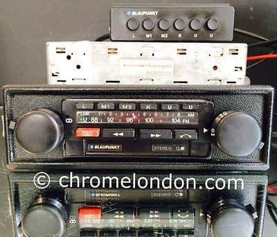BLAUPUNKT BAMBERG ELECTRONIC -Vintage Car STEREO Radio Cassette +AMP+MEM BOX *RESTORED* PORSCHE 911 930 TURBO FERRARI 308 512 MASERATI
