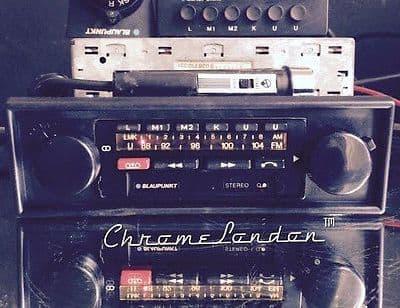 BLAUPUNKT BAMBERG ELECTRONIC Vintage Radio Cass MP3 Amp+Mic+MemBox MINT+WARRANTY 77-79 PORSCHE 911SC 911S 930 TURBO FERRARI 308 512 MASERATI