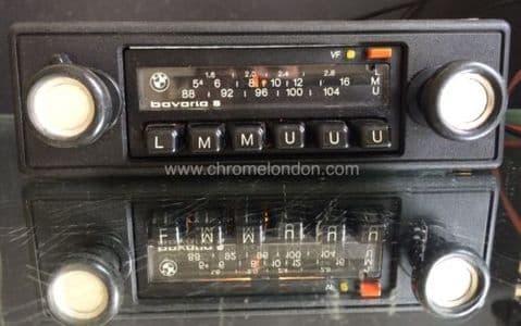 BLAUPUNKT BAVARIA S BMW OEM Classic Car FM Radio +MP3 see video