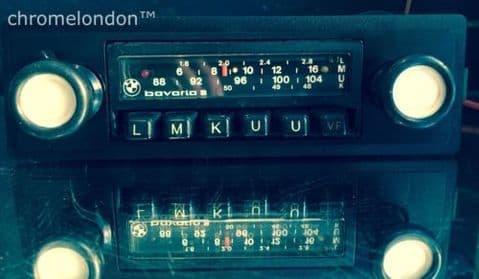 BLAUPUNKT BAVARIA S STEREO BMW OEM Classic Car FM Radio +MP3 seeVideo 6M WARRANTY BMW E3 E9 E10 E12 E21 E23 E24 E28 2002 3.0 CSI M1
