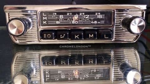 BLAUPUNKT BREMEN (S) Vintage Classic Car MW Radio +MP3 FULLY WORKING see video
