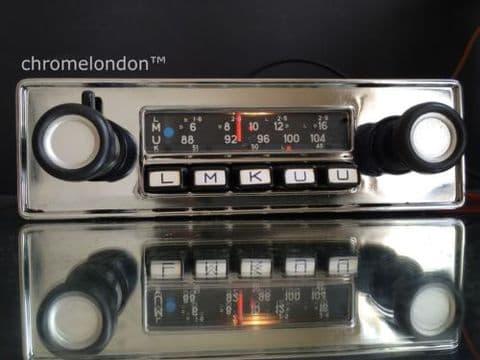 BLAUPUNKT DORTMUND Vintage Classic Car FM Radio +MP3 see video FULLY WORKING 3 MONTH WARRANTY BMW 2000CS 2002 1600