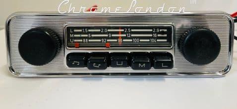 BLAUPUNKT EMDEN AU VW OEM Vintage Classic Car FM Radio see video VW BEETLE BUG CAMPER BUS KARMANN