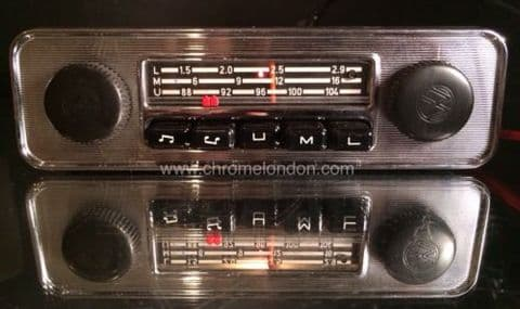 BLAUPUNKT EMDEN VW OEM Vintage Classic Car FM Radio +MP3 FULLY WORKING see video