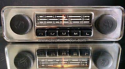 BLAUPUNKT EMDEN VW OEM Vintage Classic Car FM Radio +MP3 MINT RESTORED see video