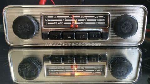 BLAUPUNKT EMDEN VW OEM Vintage Classic Car FM Radio +MP3 MINT see video 3 MONTH WARRANTY