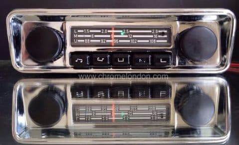 BLAUPUNKT EMDEN VW OEM Vintage Classic Car FM Radio +MP3 see video FULLY WORKING 3 MONTH WARRANTY