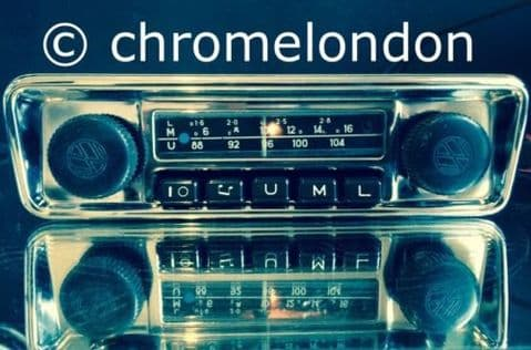 BLAUPUNKT EMDEN VW OEM Vintage Classic Car FM Radio +MP3 seeVideo FULL WARRANTY 60s70s VW BUG BEETLE CAMPER VAN BUS KARMANN GHIA