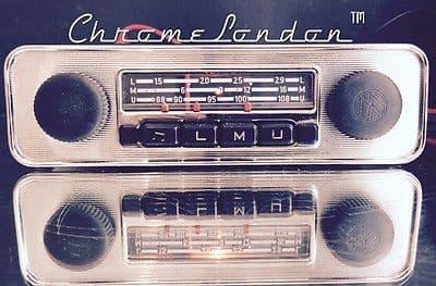 BLAUPUNKT EMDEN VW OEM Vintage Classic Car FM Radio +MP3 VW BEETLE BUS CAMPER  KARMANN GHIA