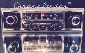 BLAUPUNKT ESSEN Slim Face Vintage Classic Car FM Radio  MERCEDES 110 111 112 113SL PORSCHE