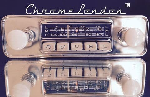 BLAUPUNKT ESSEN Vintage Classic Car FM Radio +MP3  JAG ETYPE PORSCHE 356 VW BUG BUS