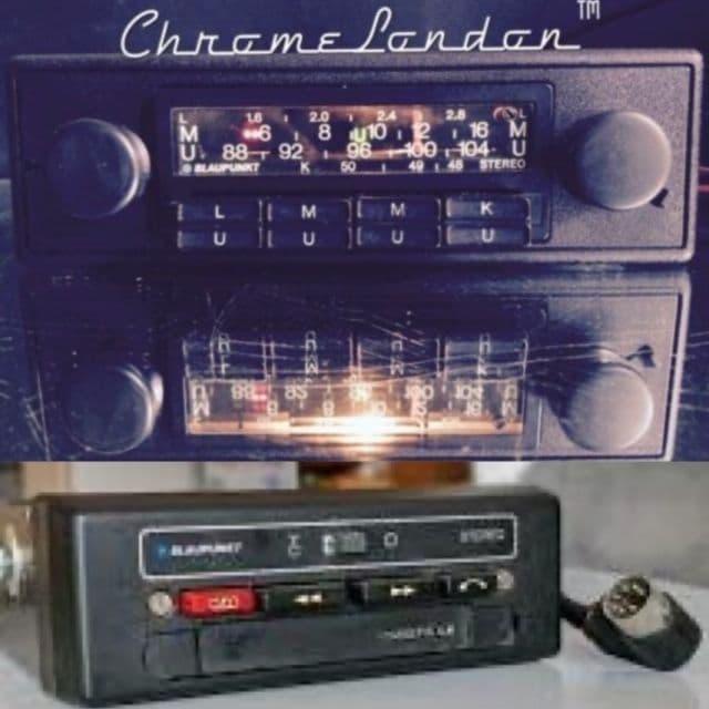 BLAUPUNKT FRANKFURT STEREO  Vintage Classic Car Radio +ACR 920 CASSETTE 70's ROLLS ROYCE BENTLEY