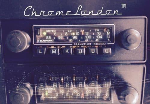 BLAUPUNKT FRANKFURT STEREO Vintage Classic Car Radio WARRANTY PORSCHE FERRARI  MASERATI