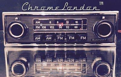 BLAUPUNKT FRANKFURT US STEREO Vintage Classic Car FM Radio MERCEDES FERRARI MASERATI ASTON MARTIN MG