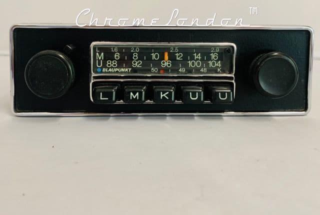 BLAUPUNKT FRANKFURT  VINTAGE CLASSIC CAR FM Radio ETYPE ASTON PORSCHE FERRARI