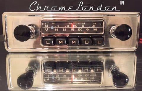 BLAUPUNKT FRANKFURT Vintage Classic Car FM Radio +MP3 ASTON DB MG ALFA