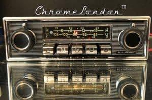 BLAUPUNKT KARLSRUHE DELUXE - Vintage Classic Car FM Radio MP3  MERCEDES PORSCHE JAG FERRARI