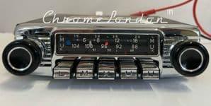 BLAUPUNKT KARLSRUHE DELUXE Vintage Classic Car FM Radio VOLVO P1800 AMAZON BMW CS ETYPE ROLLS (1)