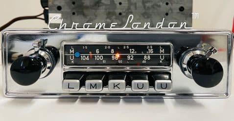 BLAUPUNKT KOLN AUTOSEEK Vintage Classic Car FM Radio +AMP+MP3 PORSCHE ETYPE ASTON FERRARI