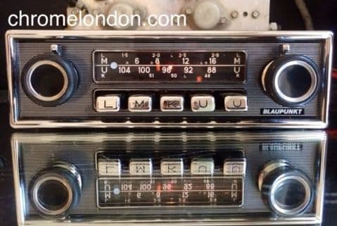 BLAUPUNKT KOLN Autoseek Vintage Classic Car FM Radio +MP3 MERCEDES SL PAGODA 600 PORSCHE