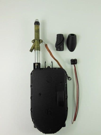 HIRSCHMANN  SPECIAL CHROME ELECTRIC WING AERIAL  - MERCEDES-BENZ W124