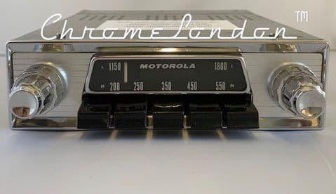 MOTOROLA 818 808 ASTON MARTIN Vintage Classic Car AM FM Radio 4xSTEREO DAB BLUETOOTH USB DB4 DB5 DB6