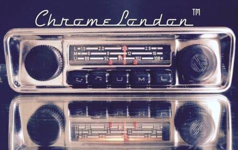 VW EMDEN GRUNDIG OEM Vintage Classic Car FM Radio +MP3  VW BUG BEETLE CAMPER VAN BUS KARMANN
