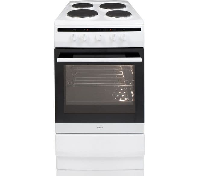 Amica 508EE1W Electric Cooker