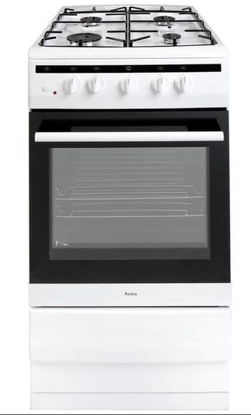 AMICA 508GG5W GAS COOKER