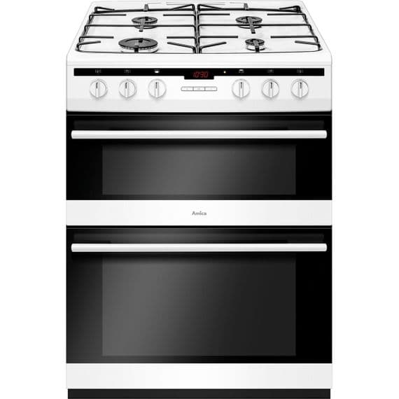 AMICA AFG6450WH GAS COOKER