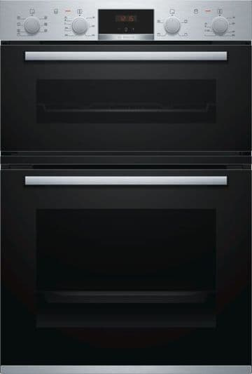 BOSCH MBS533BS0B DOUBLE BUILT IN OVEN
