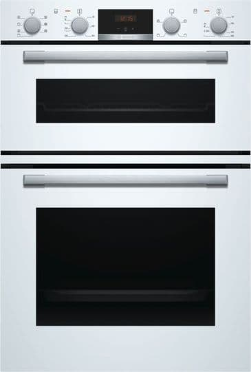 BOSCH MBS533BW0B DOUBLE BUILT IN OVEN