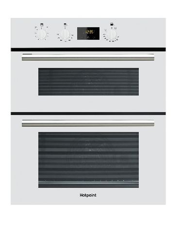 HOTPOINT DU2540WH Built Under Double Oven