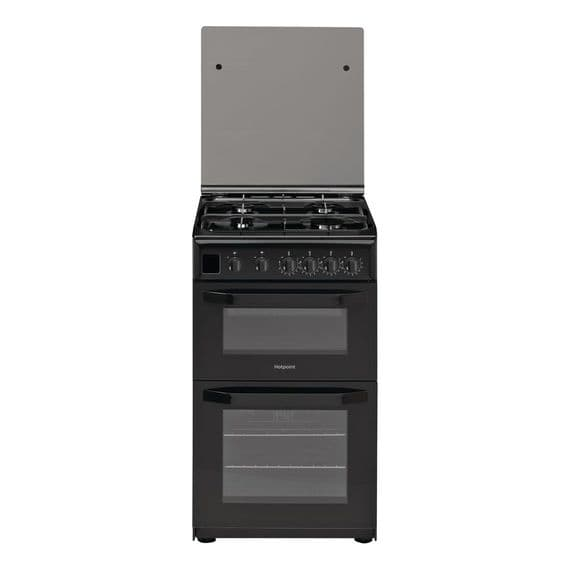 HOTPOINT HD5G00CCB GAS COOKER