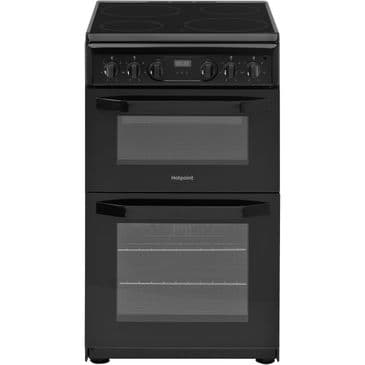 HOTPOINT HD5V93CCB BLACK ELECTRIC COOKER