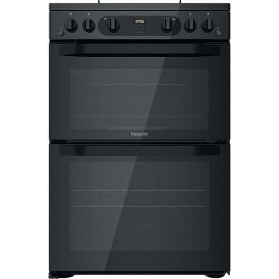 HOTPOINT HDM67G0CMB GAS COOKER