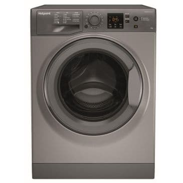 HOTPOINT NSWF943CGG Graphite 9KG Washing Machine 1400rpm