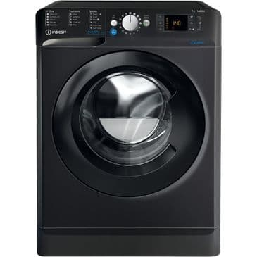 INDESIT BWE71452KUKN Black 7KG Washing Machine 1400rpm