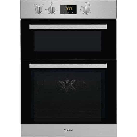 INDESIT IDD6340IX Built In Double Oven