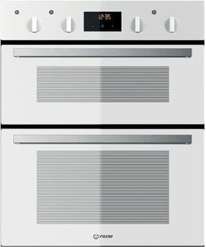 INDESIT IDU6340WH Built Under Double Oven