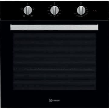 Indesit IFW6330BL Black Electric Oven