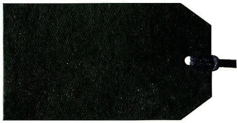 V04886 - Plain Gift Tags Black GTP85 30/PK