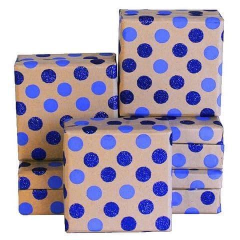 V08037 - Dotty Mini Box Blue GBXM128.100/48 12/PK